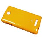Чехол Mercury Goospery Jelly Case для OPPO Neo R831 (желтый, гелевый)