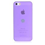 Чехол Dexim AOU Fashion для Apple iPhone 5/5S (фиолетовый, гелевый)