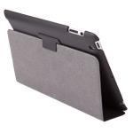 Чехол X-doria Dash Slim case для Apple iPad 2/New iPad (черный, кожанный)