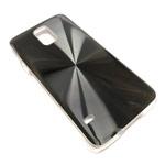 Чехол Yotrix MetalCase Round для Samsung Galaxy S5 SM-G900 (черный, алюминиевый)