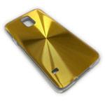 Чехол Yotrix MetalCase Round для Samsung Galaxy S5 SM-G900 (золотистый, алюминиевый)