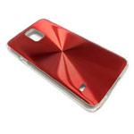 Чехол Yotrix MetalCase Round для Samsung Galaxy S5 SM-G900 (красный, алюминиевый)