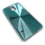 Чехол Yotrix MetalCase Round для Samsung Galaxy S5 SM-G900 (голубой, алюминиевый)