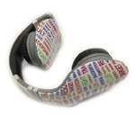 Наушники OUNUO iLeaf Pro Style (Words, без микрофона, 18-22000 Гц)