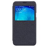 Чехол Nillkin Sparkle Leather Case для Samsung Galaxy J5 SM-J500 (темно-серый, винилискожа)
