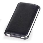 Чехол Yotrix FlipCase для HTC One X S720e (кожанный, черный)