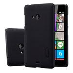 Чехол Nillkin Hard case для Microsoft Lumia 540 (черный, пластиковый)