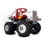 Сувенир-игрушка Dexim AppSpeed Monster Truck для Apple iPhone/iPod/iPad (красная)
