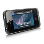 Чехол с батареей Dexim Super-Juice Power Case для Apple iPhone 4/4S (2000 mAh) (черный)