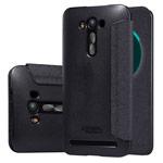 Чехол Nillkin Sparkle Leather Case для Asus ZenFone 2 Laser ZE500KL (темно-серый, винилискожа)