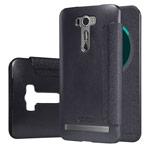 Чехол Nillkin Sparkle Leather Case для Asus ZenFone 2 Laser ZE601KL (темно-серый, винилискожа)