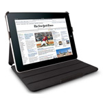 Чехол Yotrix FlipCase для Apple iPad 2/new iPad (кожанный, черный)