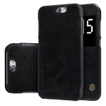 Чехол Nillkin Qin leather case для HTC One A9 (черный, кожаный)