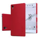 Чехол Nillkin Hard case для Sony Xperia Z5 (красный, пластиковый)
