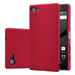 Чехол Nillkin Hard case для Sony Xperia Z5 compact (красный, пластиковый)
