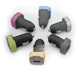 Зарядное устройтво X-doria Smart Car Charger для Apple iPhone/iPod (голубой)