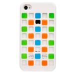 Чехол X-doria Cubit Case для Apple iPhone 4/4S (белый/мозайка)
