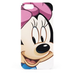 Чехол Disney Phone case для Apple iPhone 5/5S (Minnie Mouse, пластиковый)