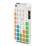 Чехол X-doria Cubit Case для Apple iPod touch (4-th gen) (белый/мозайка)