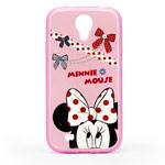 Чехол Disney Minnie Mouse series case для Samsung Galaxy S4 i9500 (розовый, пластиковый)