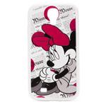 Чехол Disney Minnie Mouse series case для Samsung Galaxy S4 i9500 (белый, пластиковый)