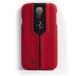 Чехол Ferrari Montecarlo Hardcase для Samsung Galaxy S4 i9500 (красный, кожаный)