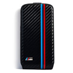 Чехол BMW M Power Collection для Samsung Galaxy S4 i9500 (черный, карбон)