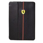 Чехол Ferrari Scuderia Foliocase для Apple iPad mini 2/3 (черный, карбон)