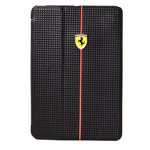 Чехол Ferrari Scuderia Foliocase для Apple iPad Air (черный, карбон)
