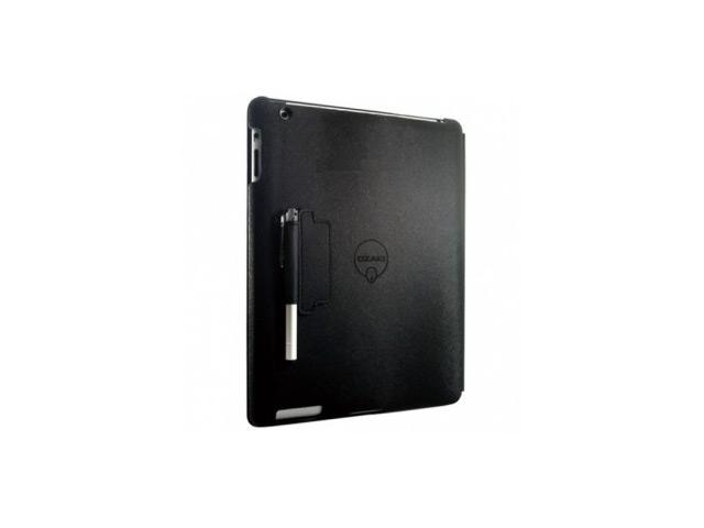 Чехол Ozaki iCoat Notebook для Apple new iPad/iPad 2 (черный, кожанный)