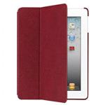 Чехол Ozaki iCoat Notebook для Apple new iPad/iPad 2 (красный, кожанный)