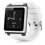 Браслет iWatchz Q Series для Apple iPod nano (6th gen) (белый)