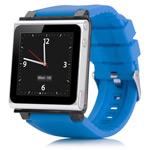 Браслет iWatchz Q Series для Apple iPod nano (6th gen) (голубой)