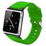 Браслет iWatchz Q Series для Apple iPod nano (6th gen) (зеленый)