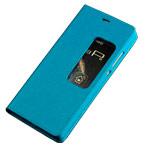 Чехол Yotrix FlipView case для Huawei P8 (голубой, кожаный)