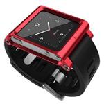 Браслет LunaTik для Apple iPod nano (6th gen) (красный)