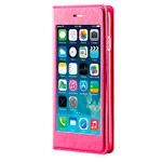 Чехол RGBMIX X-Fitted Privacy Protector для Apple iPhone 6 (розовый, кожаный)
