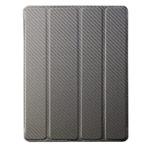 Чехол Cooler Master Wake Up Folio для Apple iPad 2/new iPad (черный, карбон, стилус)