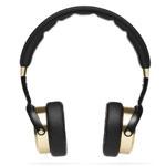 Наушники Xiaomi Mi Headphones универсальные (черные/золотистые, микрофон, 20-20000 Гц, 50 мм)
