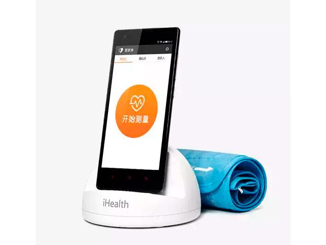 Тонометр Xiaomi iHealth (белый, беспроводной)
