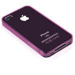 Чехол X-doria Defense 360 для Apple iPhone 4/4S (розовый, полупрозрачный)