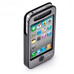Чехол X-doria Business Mixed Leather Case для Apple iPhone 4/4S (черный, кожанный)