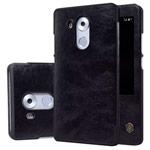 Чехол Nillkin Qin leather case для Huawei Mate 8 (черный, кожаный)