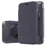 Чехол Nillkin Sparkle Leather Case для Asus Zenfone Zoom ZX551ML (темно-серый, винилискожа)