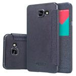 Чехол Nillkin Sparkle Leather Case для Samsung Galaxy A7 A710F (темно-серый, винилискожа)