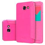 Чехол Nillkin Sparkle Leather Case для Samsung Galaxy A7 A710F (розовый, винилискожа)