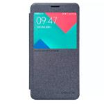 Чехол Nillkin Sparkle Leather Case для Samsung Galaxy A5 A510F (темно-серый, винилискожа)