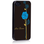 Чехол X-doria Dream Works Case для Apple iPhone 4/4S (с рисунком, Love Forever)