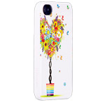 Чехол X-doria Dream Works Case для Apple iPhone 4/4S (с рисунком, Love Tree)