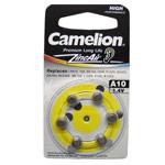 Комплект батареек Camelion (размер A10, 1.4V, 6 шт., Zinc Air)